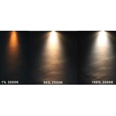 LED GU10 Spot - 5W - CCT Dimbaar (2000-3000K) - 45° - zilver