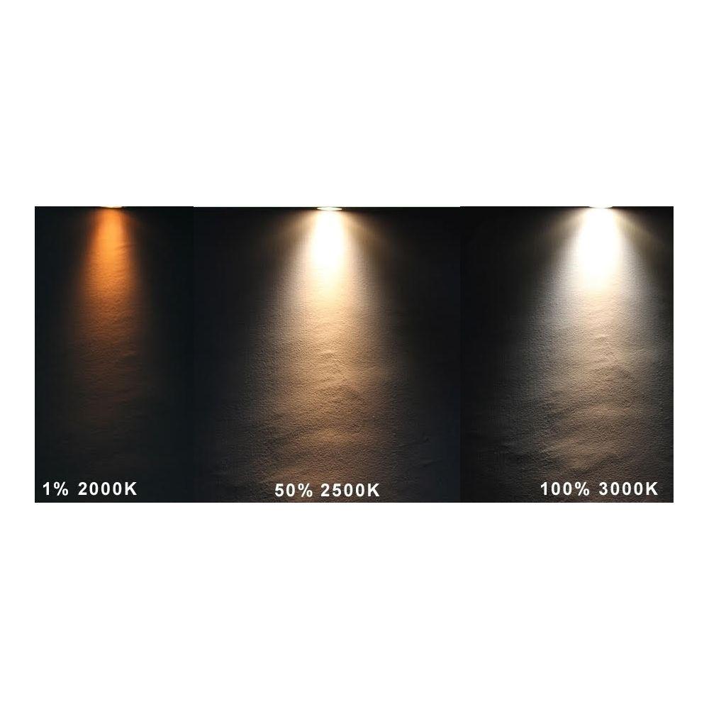 LED GU10 Spot - 5W - CCT Dimbaar (2000-3000K) - 45°