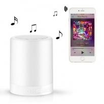 Bluetooth speaker met RGB lamp