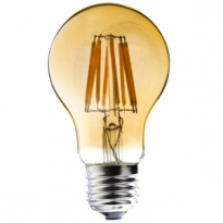 LED E27-Filament lamp - 7W - 2400K - 700Lm - Retro/Goud