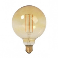 LED E27-Filament lamp - 6W - 2400K - 700Lm - Retro/Goud - G95
