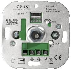 LED Inbouwdimmer (faseaansnijding - 5-100W/VA)