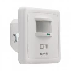 LED PIR Bewegingssensor - Inbouw (max. 1200W) - IP20 - Wit