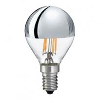 LED E14-Filament Spiegellamp - 4W - 440Lm - 2700K - Dimbaar
