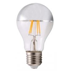 LED E27-Filament Spiegellamp - 6W - 660Lm - 2700K - Dimbaar