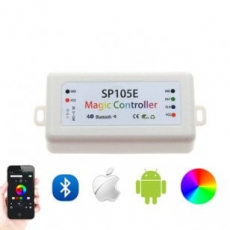 LED Bluetooth Controller - SP105E - max 2048px - 200 effecten