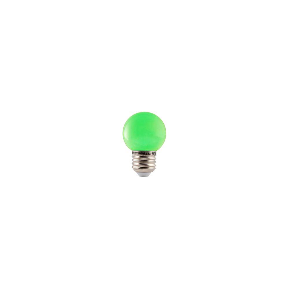 LED E27-Bulb - 1W - Waterproof - Groen