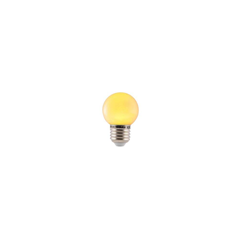 LED E27-Bulb - 1W - Waterproof - Geel