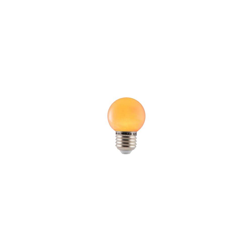 LED E27-Bulb - 1W - Waterproof - Oranje