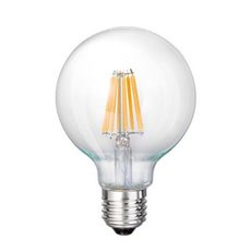LED E27-G125-Filament lamp - 8W - 2700K - 800Lm