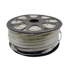 LED Strip 230V - Blauw - 6000K - 60xSMD3014/m - IP66