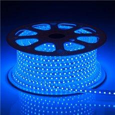 LED Strip 230V - Blauw - 6000K - 60xSMD3014/m - IP66