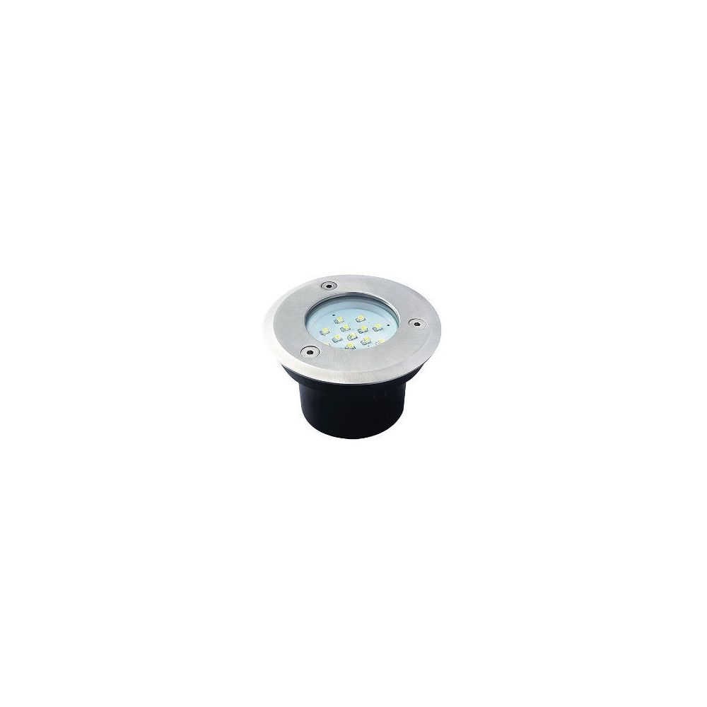 LED Grondspot - 0,7W - 35Lm - 14SMD - 6200-6000K - IP66 - Rond