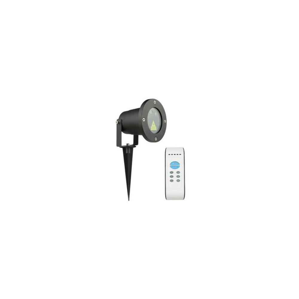 LED Laser Tuin en Feest lamp - Rood/Groen - 12 effecten met afstandsbediening