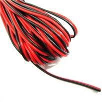 Stroomkabel - 12V - AWM-2468 - 20AWG - VW-1 - max. 300V - 1m