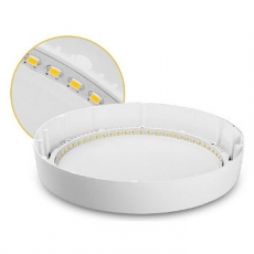 LED Opbouw Paneel - 120x32 - Rond - 6W - 3000K - 450Lm
