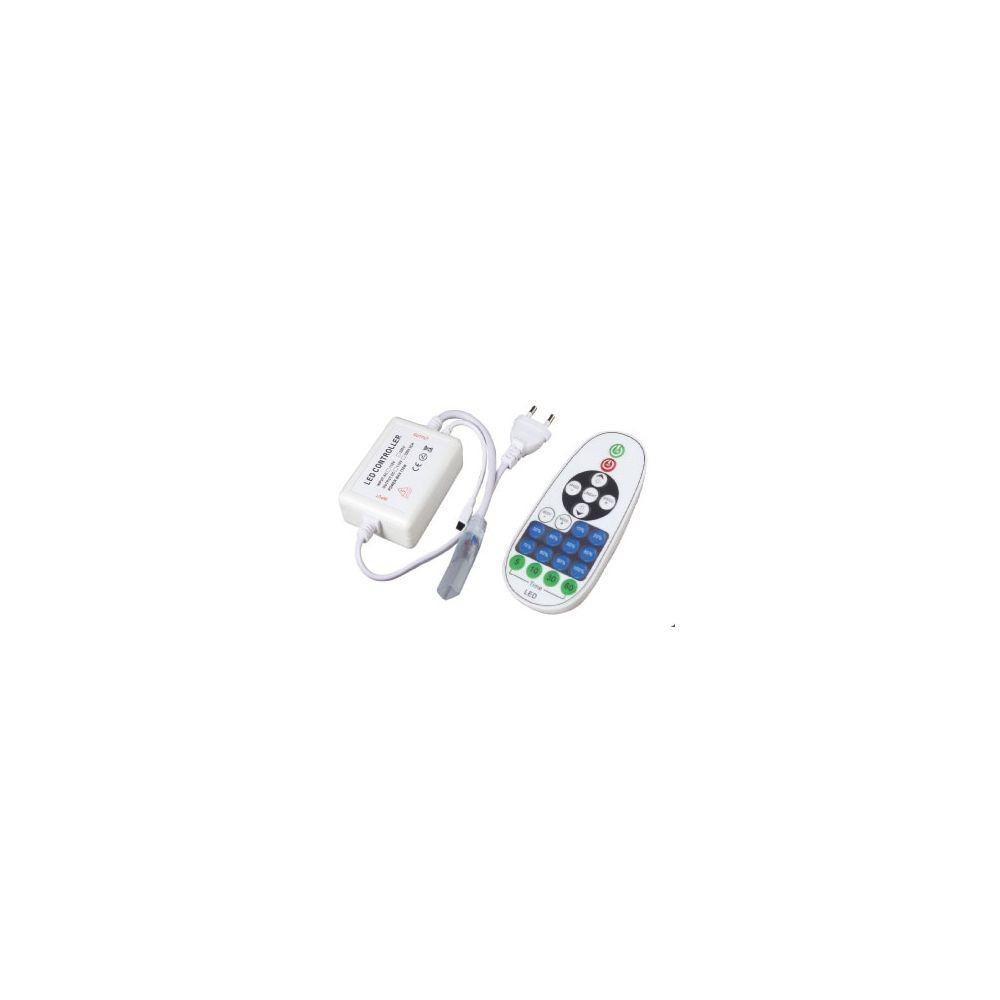 LED Dimmer - Strip 230V - Single Color - IR - 23Keys - 4A - 720W