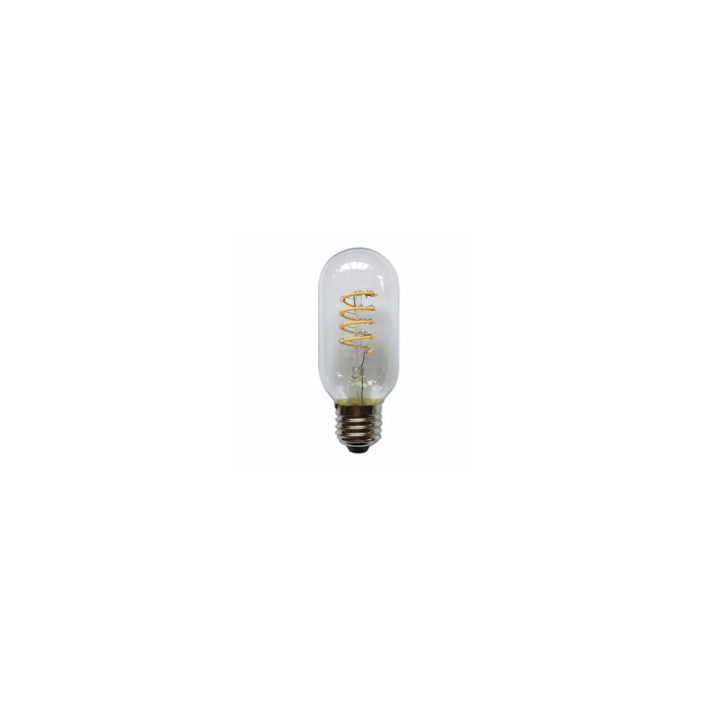 LED E27-T45-Filament lamp - 4W - 2700K - 700Lm - Curved