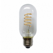 LED E27-T45-Filament lamp - 4W - 2700K - 700Lm - Curved