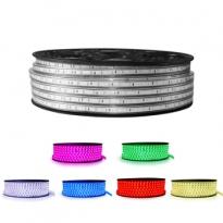 LED Strip 230V - RGB - 14,4W/m - 60xSMD5050/m - 1m - IP66