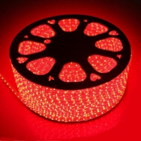 LED Strip 230V - Rood - 60xSMD5050/m - IP66
