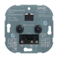 Duo dimmer (voor LED, gloei- en HV- halogeenlampen)