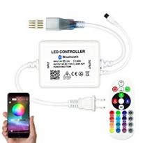 LED Controller - Strip 230V - RGB - IR+App-Bluetooth - 6A - 720W