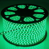 LED Strip 230V - Groen - 60xSMD5050/m - IP66