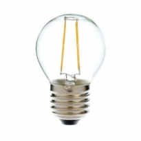 LED E27-Filament lamp - 2W - 2700K - 200Lm - Dimbaar