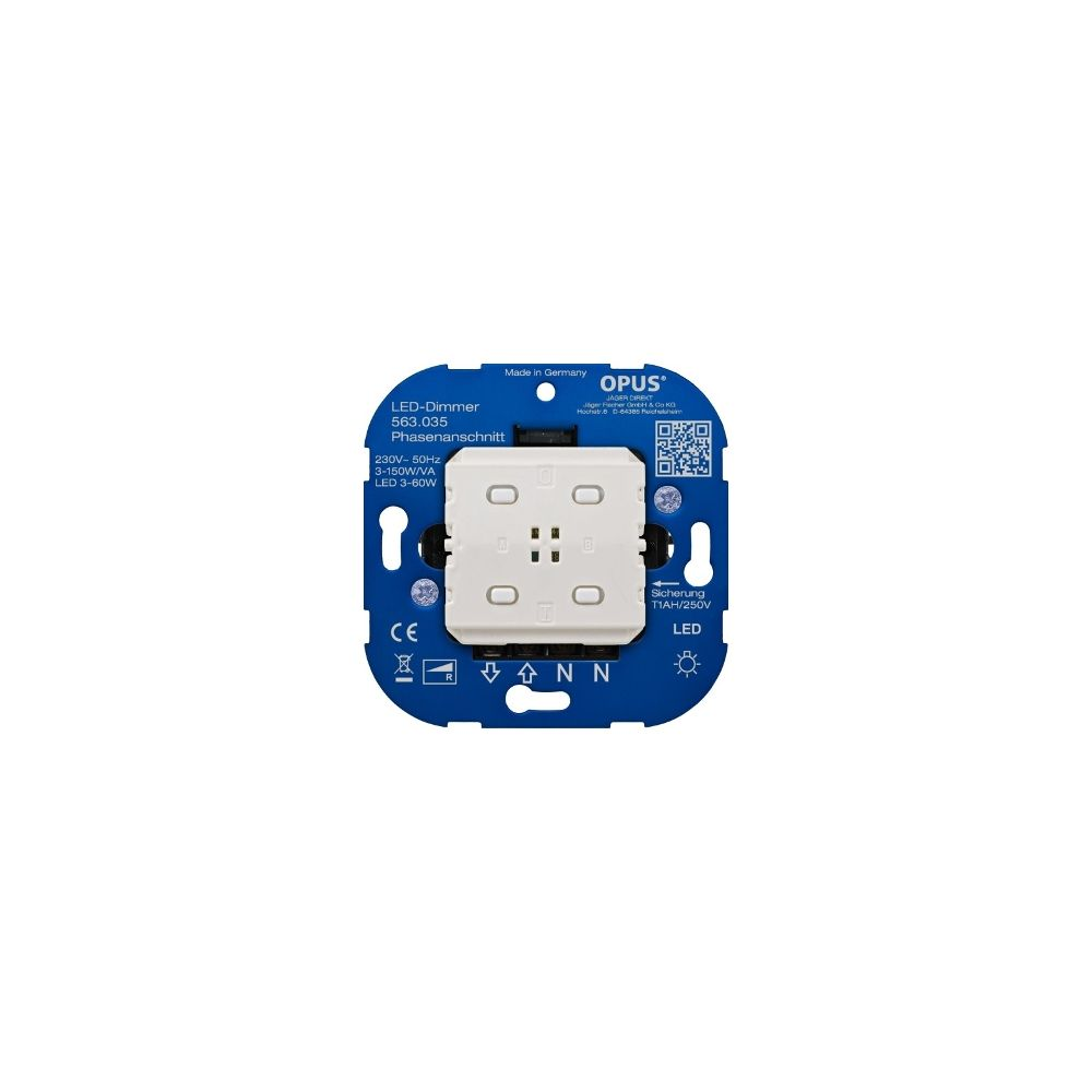 LED BRiDGE Dimmer (fase-aansnijding) - 3-60W/VA - Smart Home