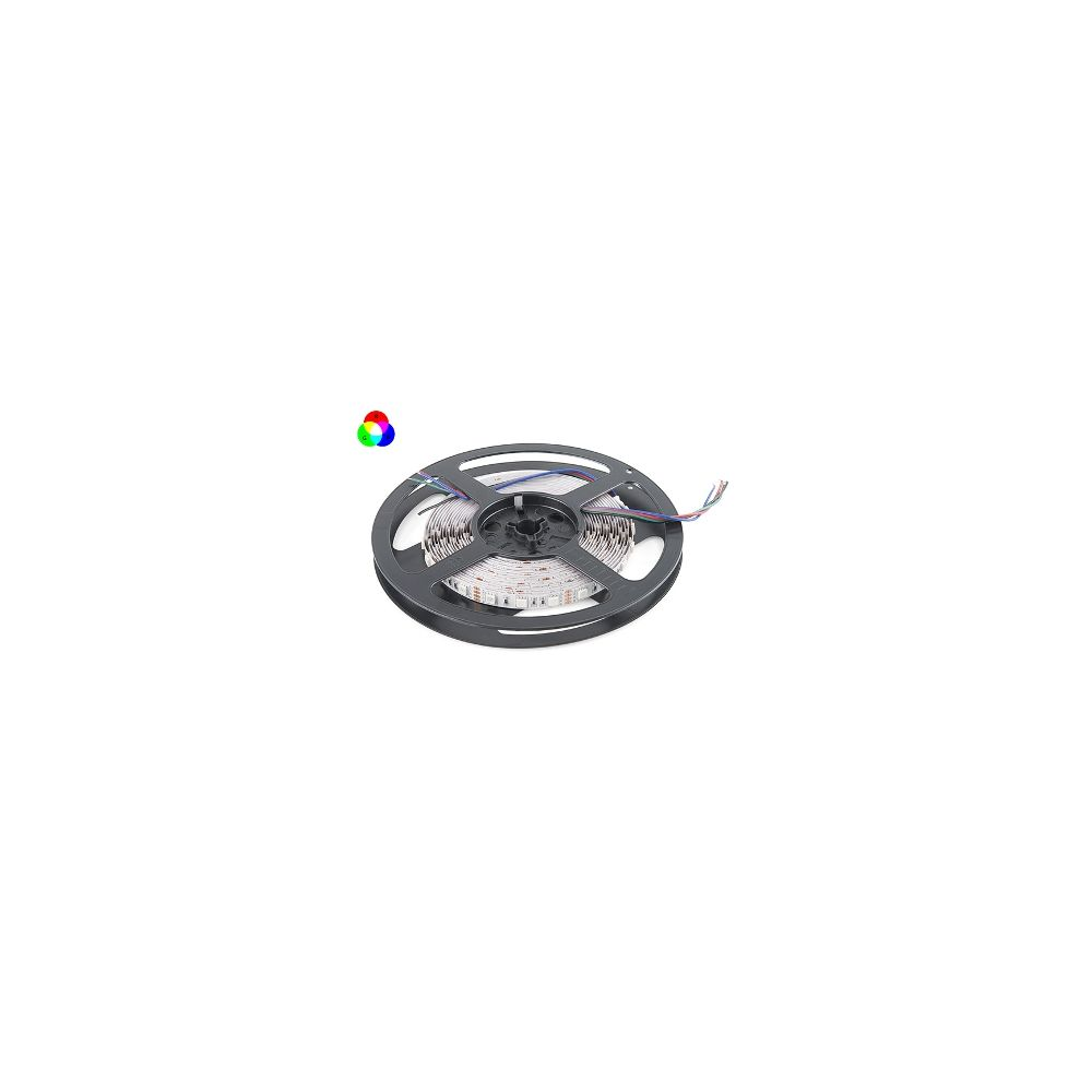 LED Strip - RGB - SMD5050 - 14,4W/m - 5m + DC12V - IP65
