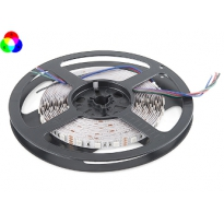 LED Strip - RGB - SMD5050 - 14,4W/m - 5m + DC12V - IP65