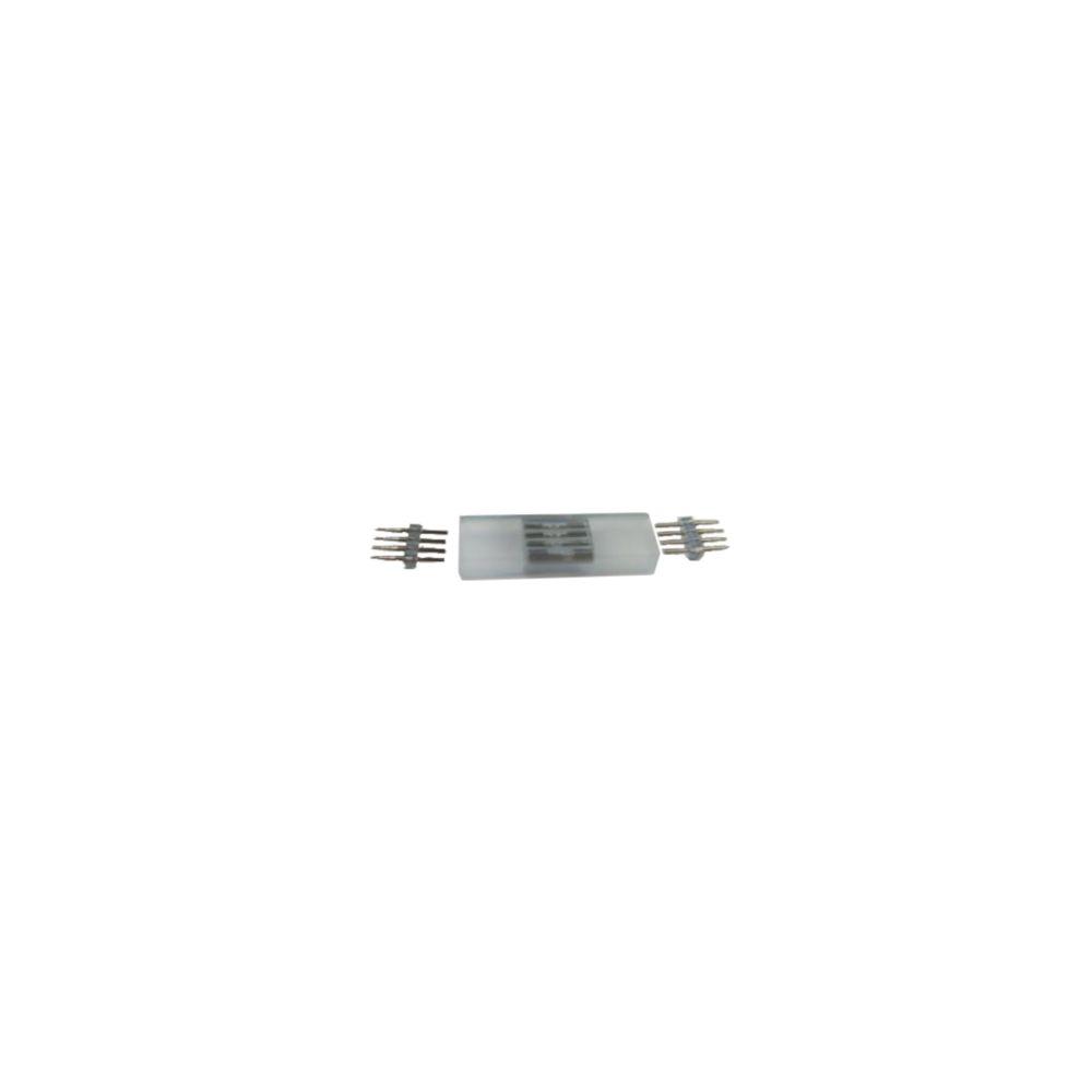 Koppelstuk LED Strip 230V - RGB - 2x female - SMD5050 (incl. contactpinnen)