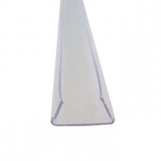 LED Strip 230V Profiel - 1m - Transparant