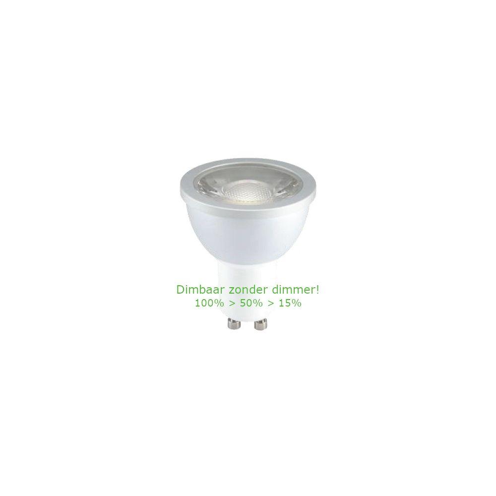 LED GU10 Spot - 5W - 2700K - 400Lm - 60° - 3-Stap-Dimbaar