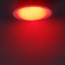LED GU5.3 Spot - 3W - 10-30VDC - Rood - 220Lm - 120°