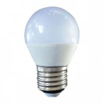LED E27-G45-Bulb - 3W - 10-30VDC - 3000K - 240Lm - Dimbaar