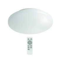 LED Plafondlamp met afstandsbediening - 16W - 2700-6000K - 160-1150 Lm - 10-stap-dimbaar