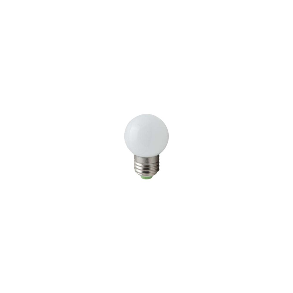 LED E27-G45-Bulb - 1W - Waterproof - Wit (6700K)