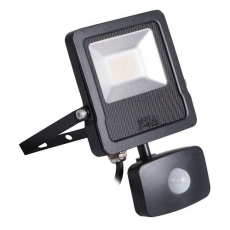 LED Breedstraler met bewegingssensor - Antos - 20W - 4000K - IP44 - Vervangt 200W