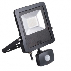 LED Breedstraler met bewegingssensor - Antos - 30W - 4000K - IP44 - Vervangt 200W