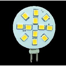 LED G4 - 3,0W - 10-30 Volt -15SMD - Sidepin (20W halogeen vervanger)