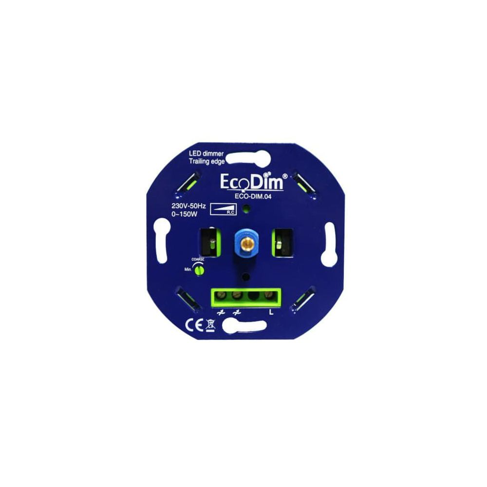LED Dimmer 230V - Fase afsnijding - Inbouw - 0-150W