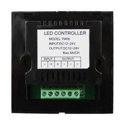 LED Touch Panel Inbouwdimmer - 12V - 24V - 4A