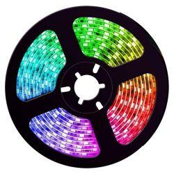 LED Strip - RGB - SMD5050 - 7,2W/m - 5m + DC12V - IP20