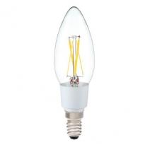 LED E14-Filament kaarslamp - 3,5W - 2700K - 385Lm - Helder