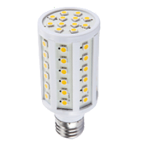 LED E27-Corn - 9 Watt - 3000K