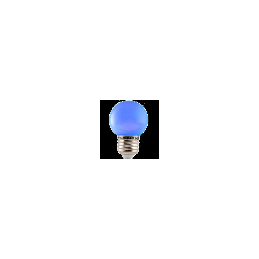 LED E27-Bulb - 2W - Waterproof - Blauw