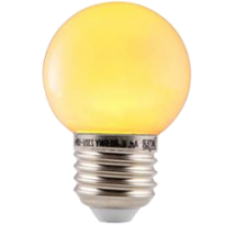 LED E27-Bulb - 3W - Waterproof - Geel