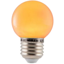 LED E27-Bulb - 2W - Waterproof - Oranje